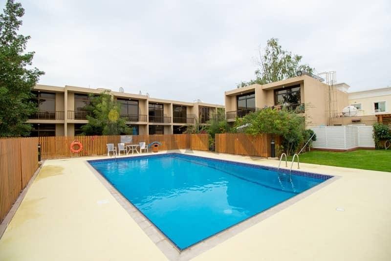 Renovated 3 bed villa in compound
