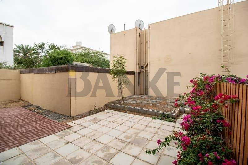 16 Renovated 3 bed villa in compound