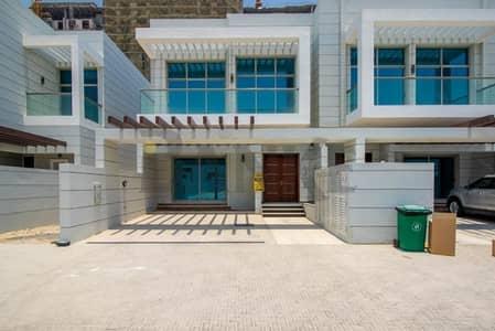 تاون هاوس 4 غرفة نوم للايجار في الفرجان، دبي - End Unit Type 1E Equipped Kitchen Townhouse