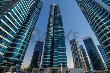 مکتب  للايجار في أبراج بحيرات الجميرا، دبي - Jumeirah Bay X2 | Fitted office | Glass partitions