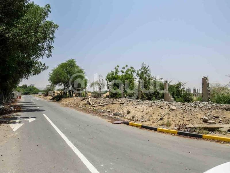 Commercial and Residential Land in Jasmine Asphalt Streets (Al Ittihad Village, Al Bonyan 1, Al Bony