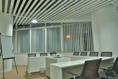 Office for Rent in Al Karama, Dubai - FURNISHED OFFICE WITH ONE YEAR SUSTAINABILITY CONTRACT AND ALL UTILITY INCLUDED