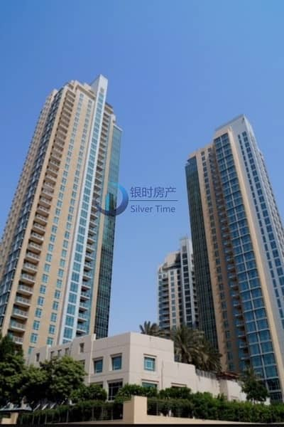 3 Bedroom Flat for Sale in Downtown Dubai, Dubai - Nice 3 bedroom + maid with Burj and Fountain view.