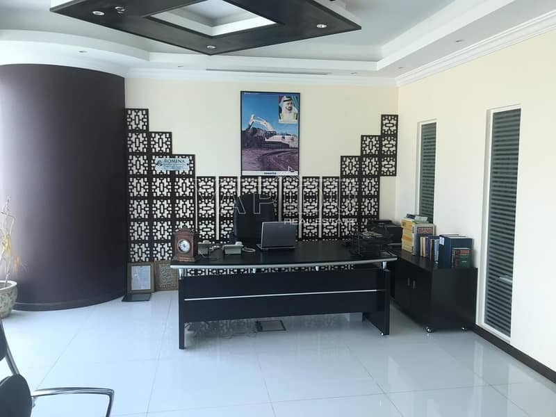 2 Vacant Fully Furnished Office for Rent