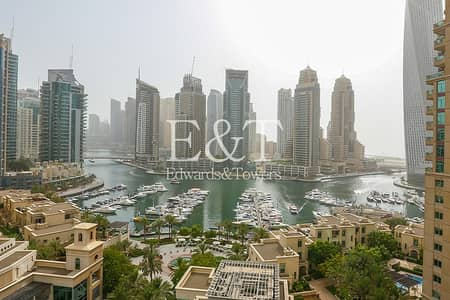2 Bedroom Apartment for Rent in Dubai Marina, Dubai - Exclusive: Full Marina View | Fully Furnished
