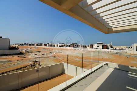 5 Bedroom Villa for Sale in Yas Island, Abu Dhabi - Single row corner villa over looking the park