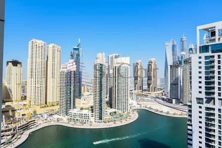 1 Bedroom Flat for Sale in Dubai Marina, Dubai - Fully Furnished 1 Bed | Marina View | Mid Floor
