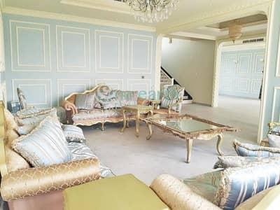3 Bedroom Villa for Rent in Nad Al Sheba, Dubai - 3BR Maids Driver Arabic Style Custom made Villa