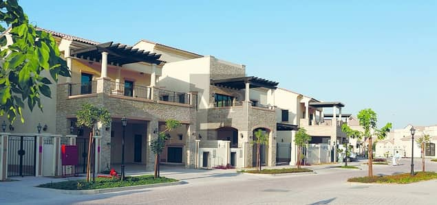 3 Bedroom Townhouse for Sale in Al Salam Street, Abu Dhabi - 100% Finance |  Own your Home in  Such a Luxury Community