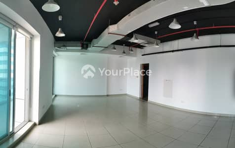 Office for Sale in Jumeirah Lake Towers (JLT), Dubai - Fully Fitted Office With Park And Lake View
