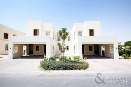 3 Bedroom Townhouse for Sale in Reem, Dubai - Semi Detached | Next to Park| 4BR | Maids