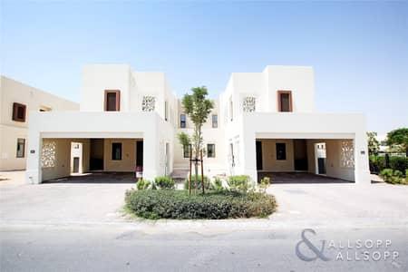 تاون هاوس 3 غرفة نوم للبيع في ريم، دبي - Semi Detached | Next to Park| 4BR | Maids