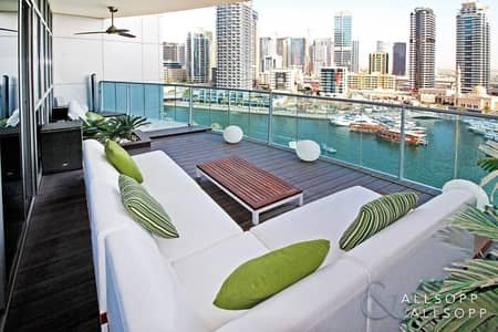 3 Bedroom Flat for Sale in Dubai Marina, Dubai - Exclusive | Upgraded Marina View | 3 Beds