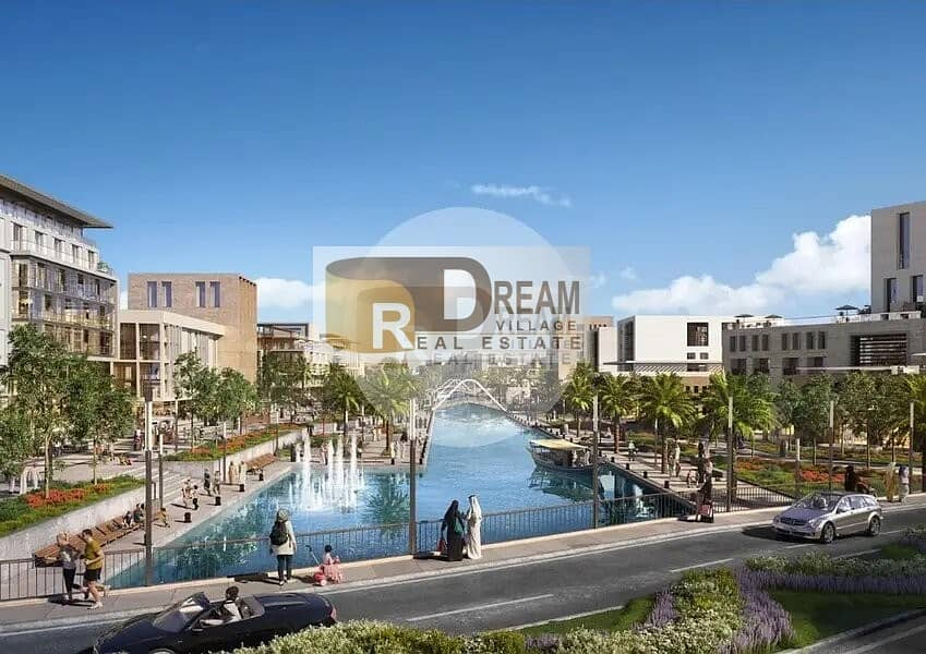 22 pay 10% Now and own your apartment in the center of Sharjah on the island