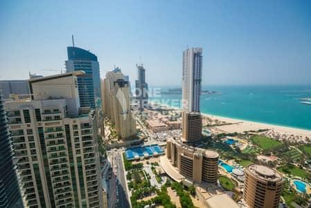 1 Bedroom Apartment for Rent in Dubai Marina, Dubai - Full Sea View