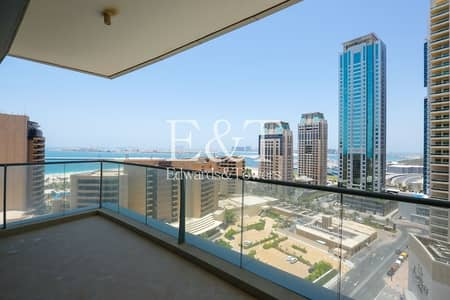 2 Bedroom Flat for Rent in Dubai Marina, Dubai - Full Sea View | 2 Bedrooms | with 1 Storage Room