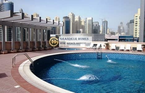 شقة 2 غرفة نوم للايجار في دبي مارينا، دبي - Spacious 2 BR+Maid with Marina View in Zumurud