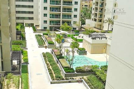 1 Bedroom Apartment for Rent in The Greens, Dubai - Garden view spacious 1 BR in Greens