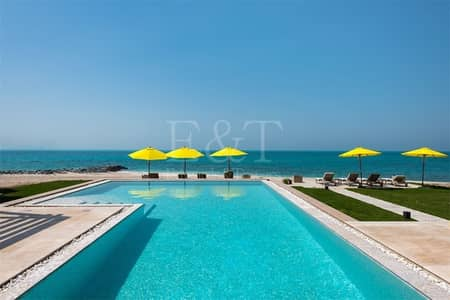 فیلا 4 غرفة نوم للبيع في جزيرة نوراي، أبوظبي - Remarkable Water Villa 4Bd+Private Pool