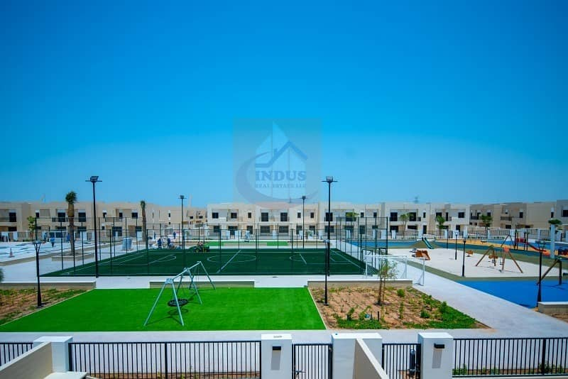 25 Corner Big Plot Type 13 C Ready to move in 4 BR Townhouse
