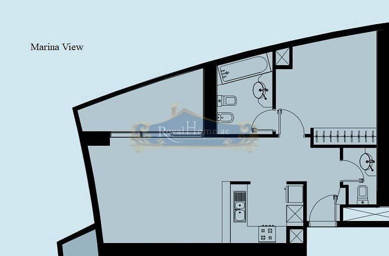 11 Full Marina View | 1BR Corner Unit | Vacant