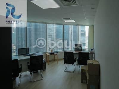 مکتب  للايجار في شارع الشيخ زايد، دبي - Direct From Owner Offices Near Metro Station