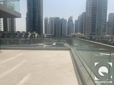 2 Bedroom Apartment for Rent in Dubai Marina, Dubai - Large Private Terrace on the Marina | Brand New