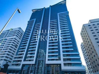 شقة 1 غرفة نوم للايجار في الخالدية، أبوظبي - Offering city views from your astonishing unit