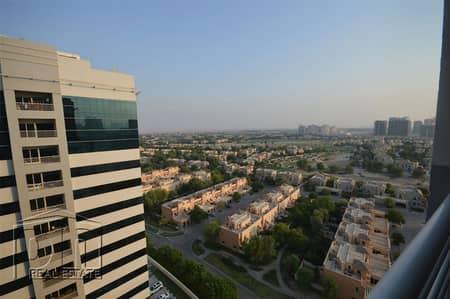 شقة 1 غرفة نوم للبيع في مدينة دبي الرياضية، دبي - Beautiful Golf Course Views|Spacious|Vacant
