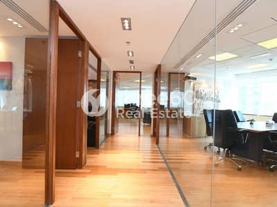 مکتب  للايجار في برشا هايتس (تيكوم)، دبي - Fully Furnished | Glass Partitions | High-End