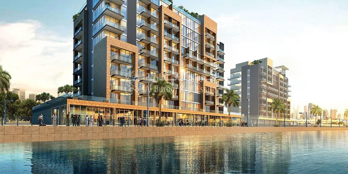 Canal view studio in Riviera Phase 1 Meydan Best Price