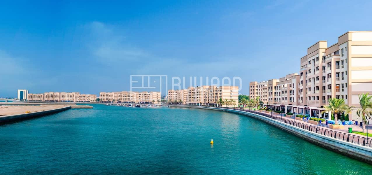 اطلالة البحر!! 1BHK للبيع في ميناء العرب