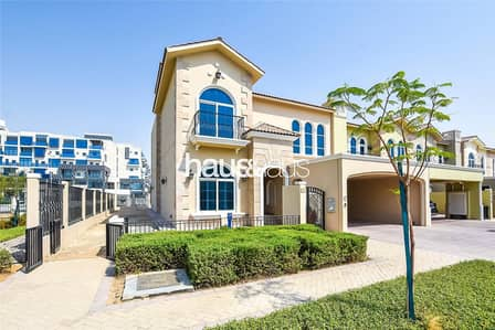 5 Bedroom Villa for Rent in Motor City, Dubai - Corner Unit | Brand New | Single Row