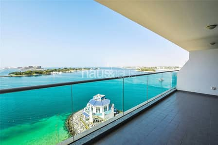 1 Bedroom Flat for Rent in Palm Jumeirah, Dubai - Vacant| Unfurnished with Sea and Burj Al Arab view