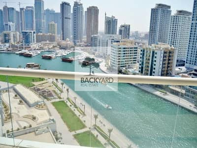 2 Bedroom Flat for Rent in Dubai Marina, Dubai - Comfy and Spacious 2BR with Balcony | Marina View