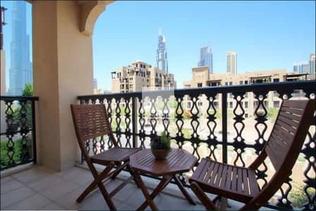 1 Bedroom Apartment for Rent in Old Town, Dubai - Fully Furnished 1 Bedroom + Study | Amazing Views