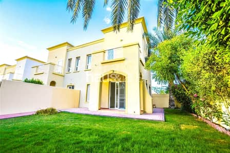 2 Bedroom Villa for Sale in The Springs, Dubai - Springs 1 | Type 4E | Quiet location | 2BR +Study
