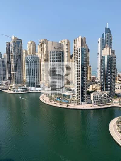 شقة 3 غرفة نوم للبيع في دبي مارينا، دبي - Spacious 3BR + Maid | Vacant | Full Marina View |