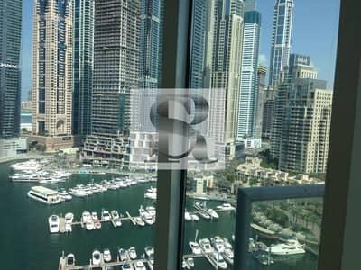 شقة 2 غرفة نوم للبيع في دبي مارينا، دبي - Exclusive High floor 03 type 2 BR + M + S - Marina View