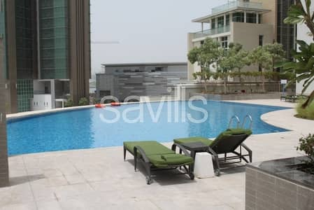 3 Bedroom Apartment for Rent in Al Reem Island, Abu Dhabi - Full sea view