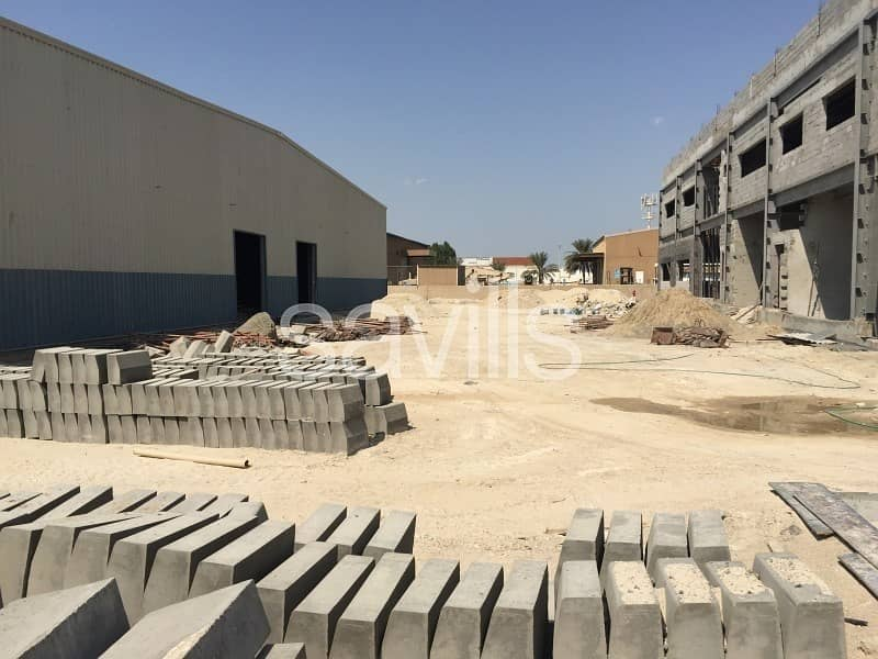 Brand New Warehouse and offices for lease in Musaffah