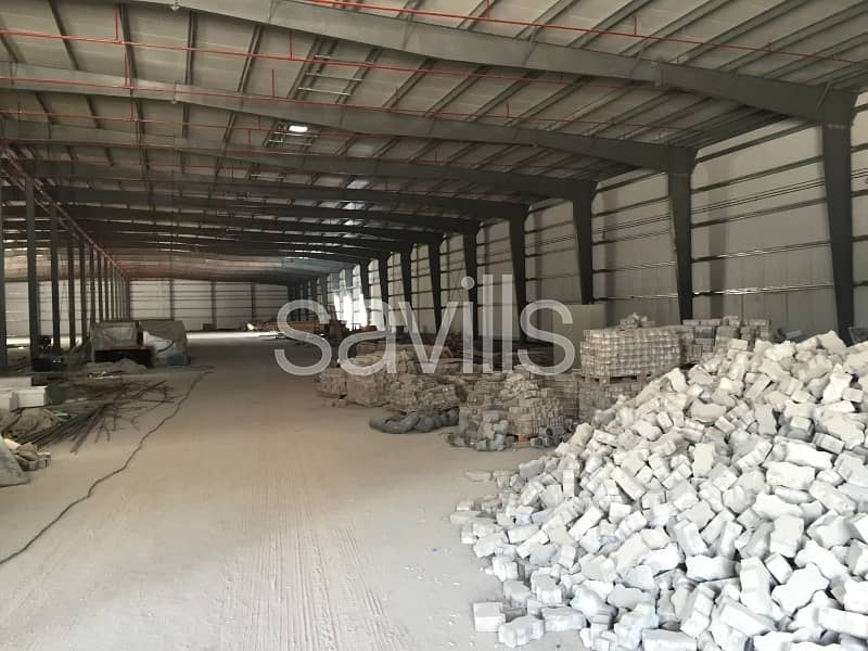 2 Brand New Warehouse and offices for lease in Musaffah