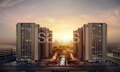 3 Bedroom Apartment for Sale in Al Reem Island, Abu Dhabi - No Commission ! only 5% booking deposit for The bridges