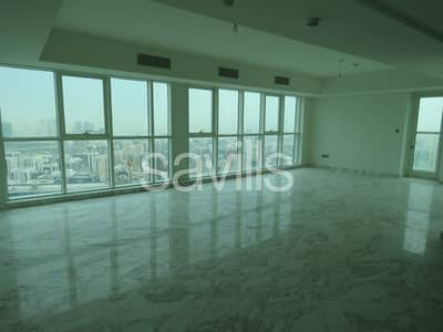 5 Bedroom Apartment for Rent in Corniche Area, Abu Dhabi - Stunning five bedroom penthouse sea view