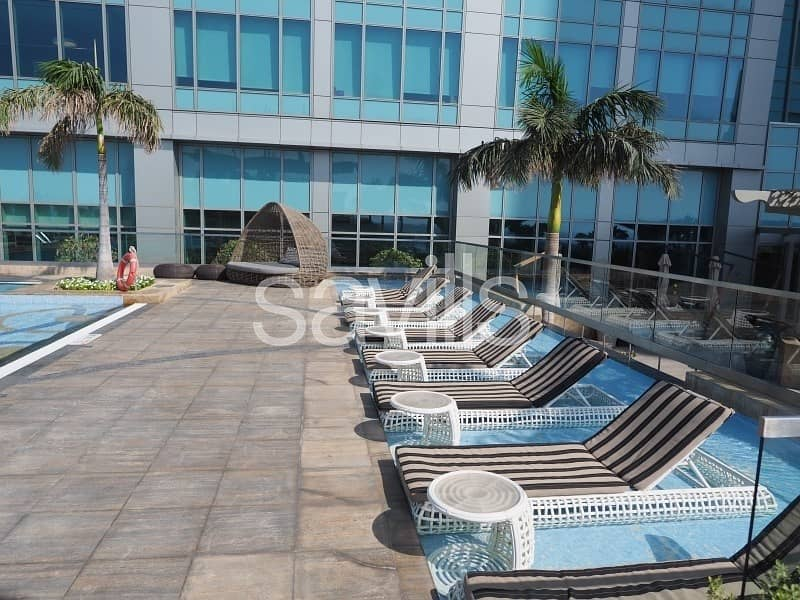 No agency and chiller fees. Amazing two bedroom on Corniche