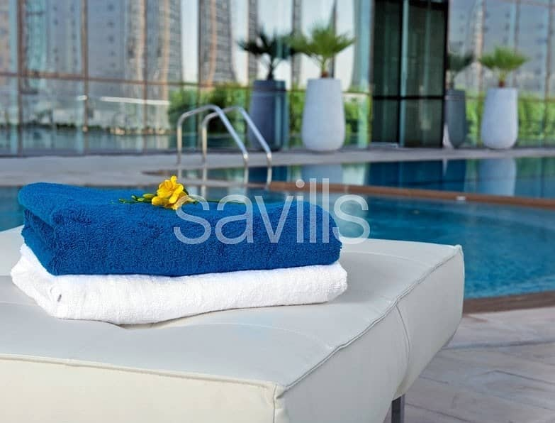 2 Stunning 3 bedroom apartment near ADNEC for 4 cheques
