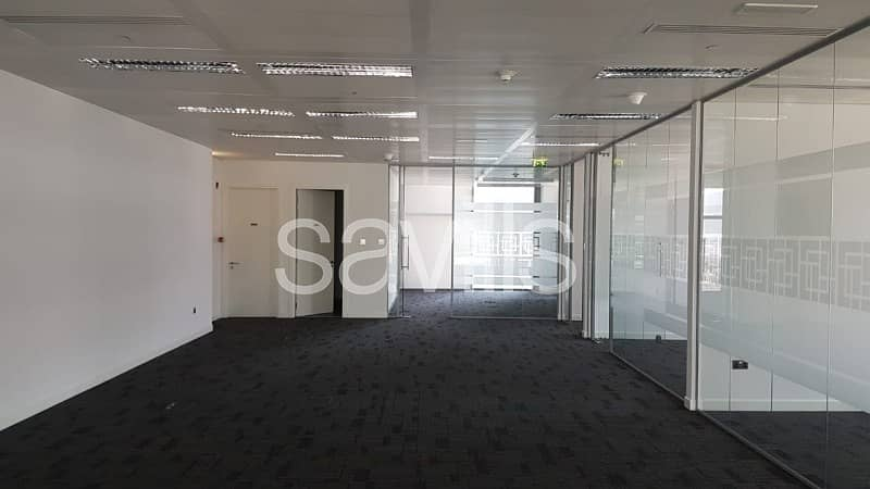 2 Open Plan Fully fitted offices in Capital Center Abu Dhabi