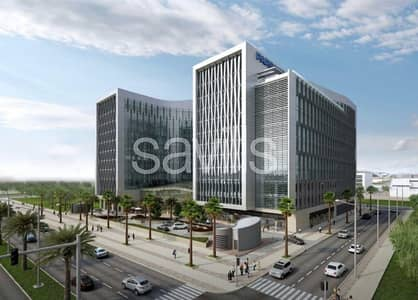 Office for Rent in Zayed City (Khalifa City C), Abu Dhabi - New grade A office building - Zayed City Abu Dhabi