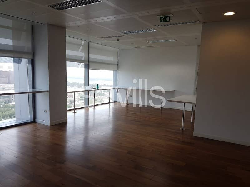 2 Excellent fully fitted Offices in Capital Center Abu Dhabi