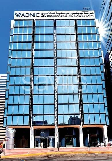 مکتب  للايجار في شارع الشيخ خليفة بن زايد، أبوظبي - 480 sq.m Office Available in Khalifa Street for Rent